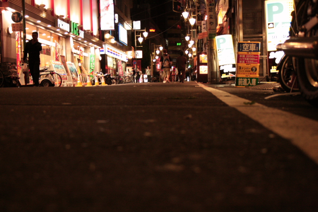 恵比寿銀座道り